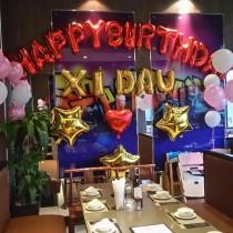 Bộ bong bóng chữ happybirthday
