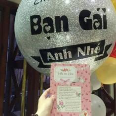 BIG BALLOONS: Bán Bóng Bay Jumbo Trang Trí Tại Hà Nội